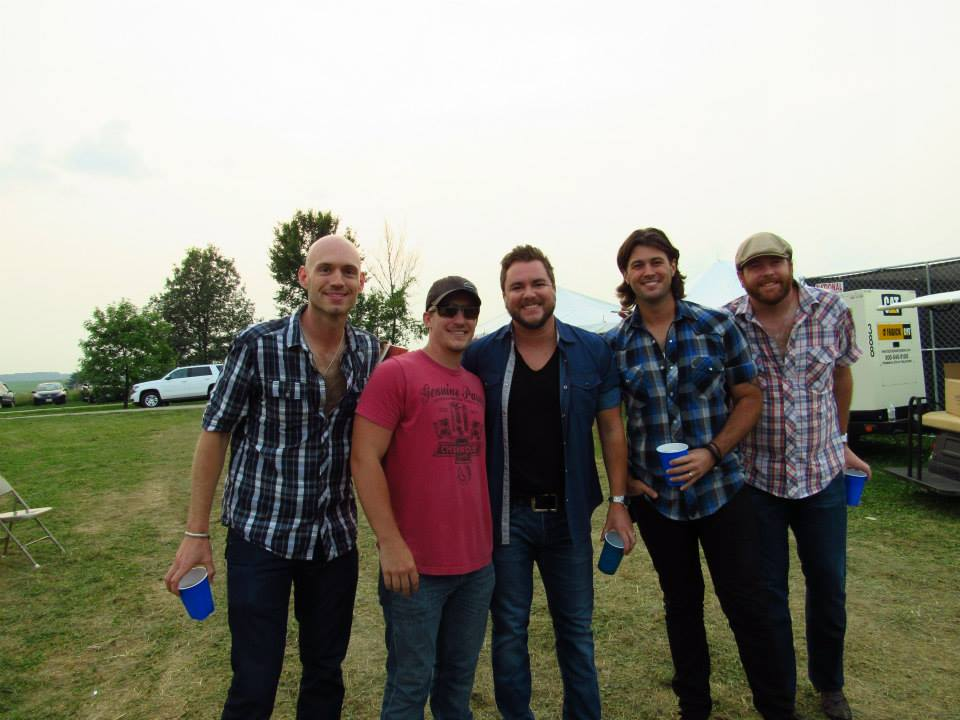 Eli Young Band at Bluegill Festival