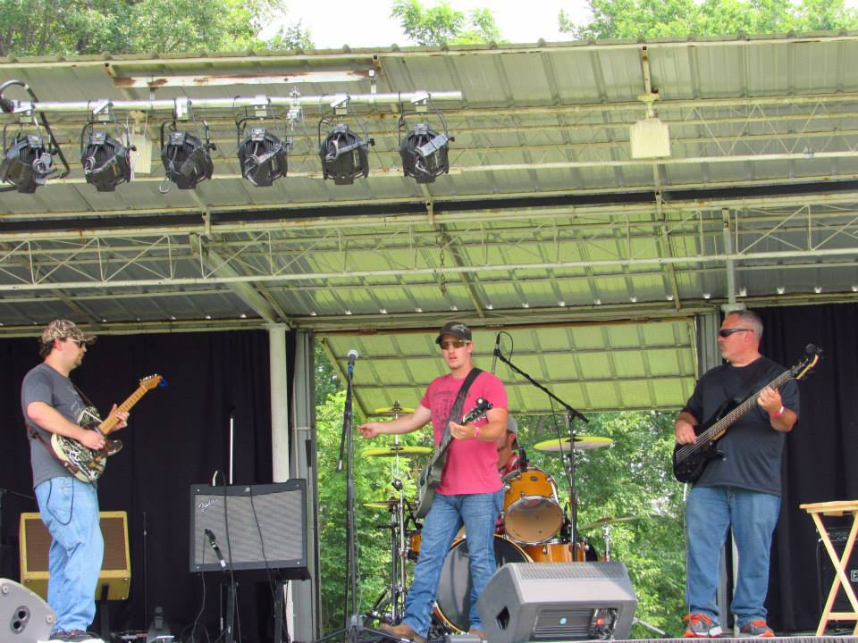 Playing at Bluegill Festival