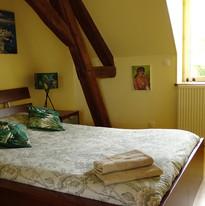 Chambre hiver du Domaine de Montboulon