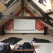 Salle de cinéma du Domaine de Montboulon