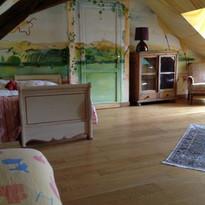 Chambre dortoir du Domaine de Montboulon