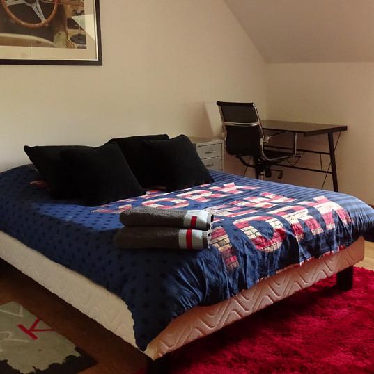 Chambre New-York du Domaine de Montboulon