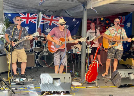 Driftwood on Australia Day