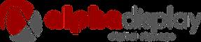 logo alphadisplay digital signage web.pn