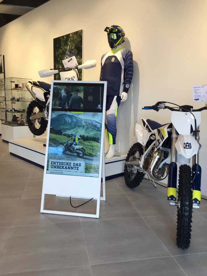Husqvarna Wien Shop Eröffnung Juni