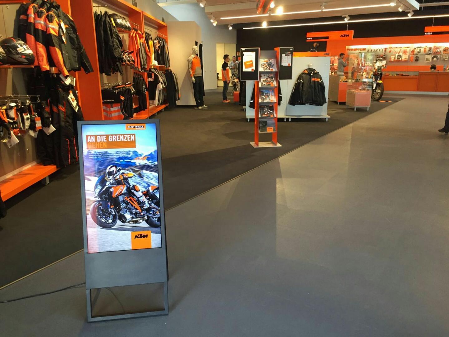 KTM Store Wien Eröffnung Juni 2016