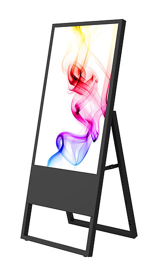 Transportable Display Stand with colorful picture