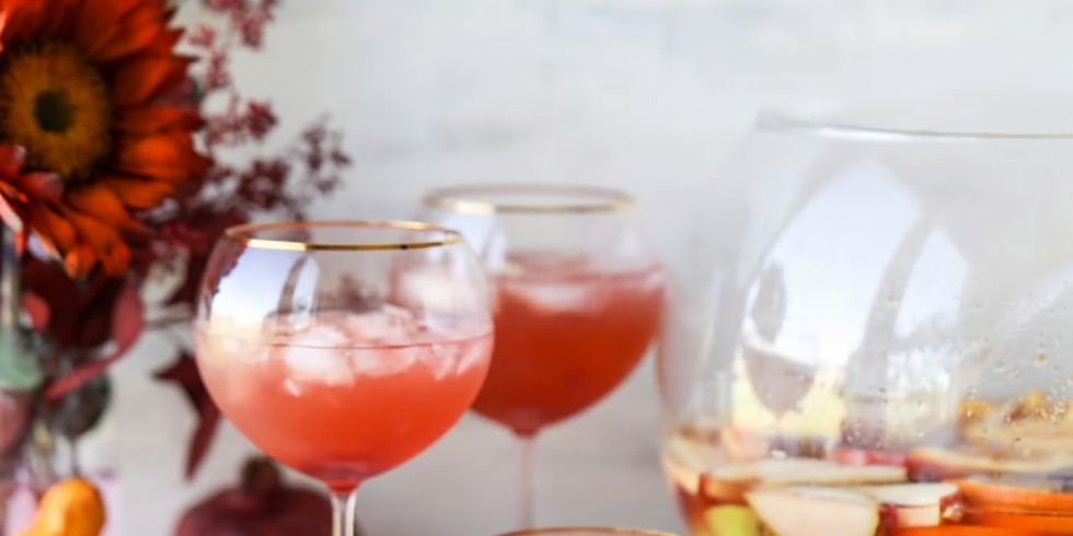 Get festive! - Cocktails for a crowd (Thanksgiving edition)