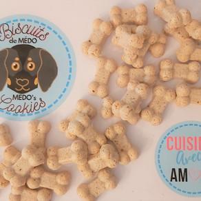 Instructions: mélange à biscuits Grillon Coco pour chien