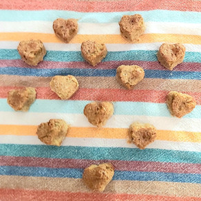 Biscuits de toutou aux edamames