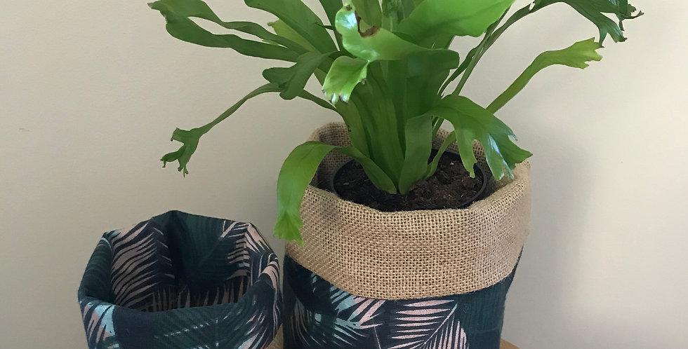 Leaf Happy Pot Cover Medium