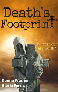 Death's Footprint Cover for Kindle  2017