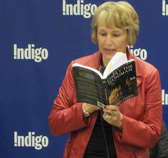 Gloria reading at Chapter's Indigo Toronto in 2012