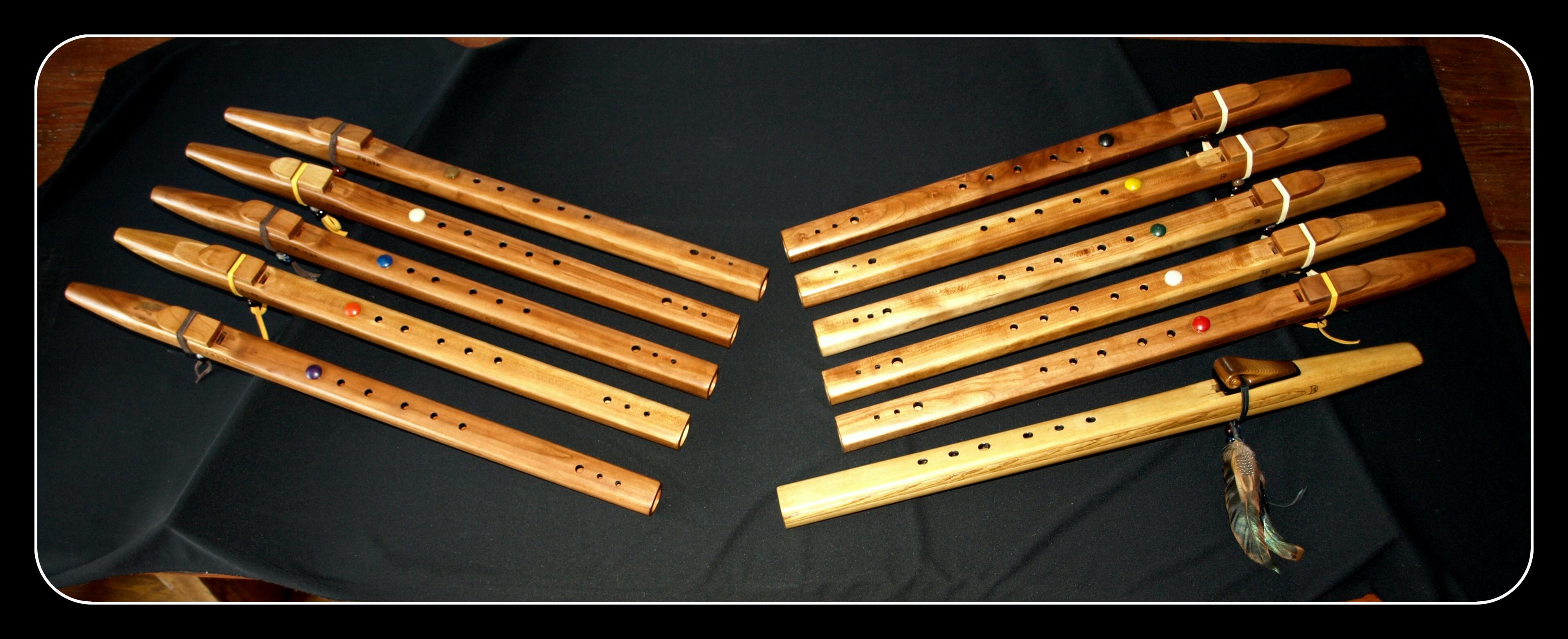 Six Nations Music Class Flutes