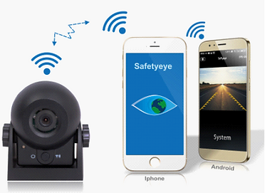 wifi magnetic camera for andoid & iphones