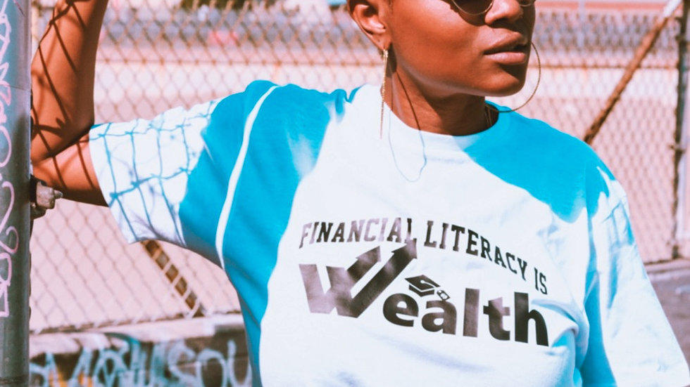 Financial Literacy Is Wealth T-Shirt