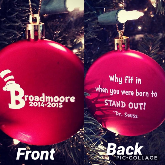 2014-2015 Broadmoore Ornament