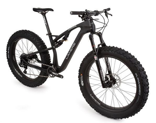 Full suspension carbon fatbik