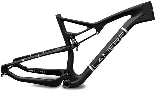 LaMere Cycles full suspension boost 29er