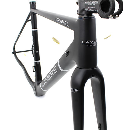 Lamere Cycles Gravel frame and fork