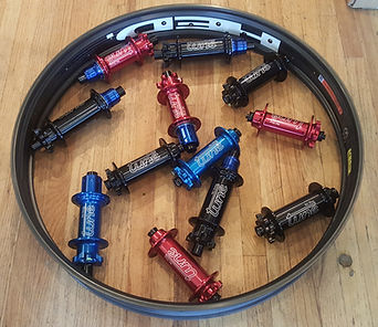 Tune hubs and HED carbon rim