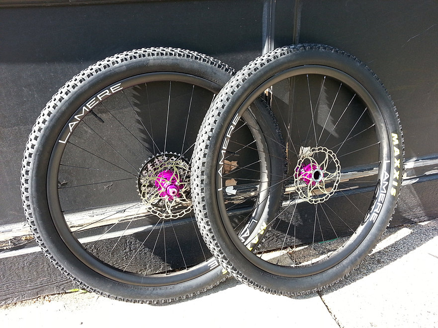 Lamere Cycles Custom Carbon Bicycles Wheels