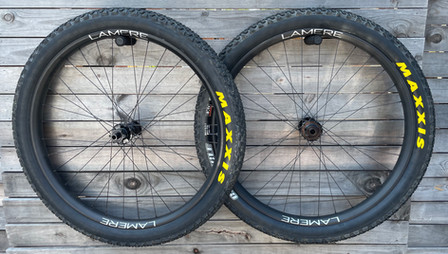 LaMere 50mm rims w/ Maxxis Chronicle