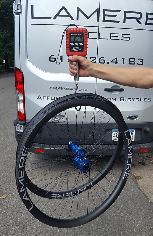 Wheelsets   LaMere Cycles Custom Carbon Bicycles