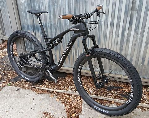 LaMere Dopamine Full Suspension Carbon Fat Bike