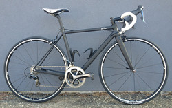DuraAce build with Bontrager wheels.