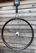 Rear wheel, LaMere rim, Onyx hub