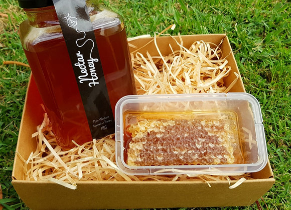 Honeycomb Happiness Box