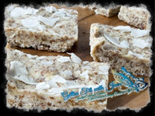 Coconut Cream Pie Protein Bars    (Gluten Free, Paleo, Dairy Free, Low Carb)