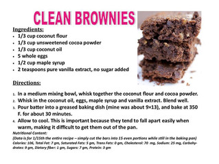 Clean Brownies