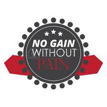 "DOMS ""No Pain No Gain"""