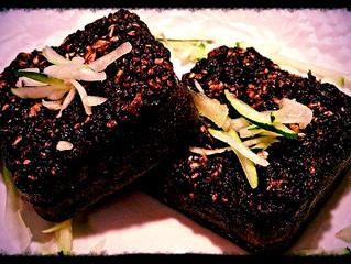 Zucchini protein bread