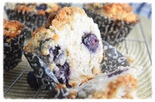 Blueberry Muffins (gluten + sugar free)