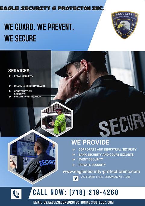 EAGLE SECURITY & PROTECTION INC