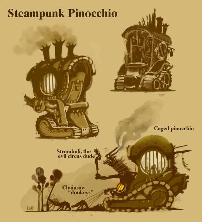 Pinocchio - concepts