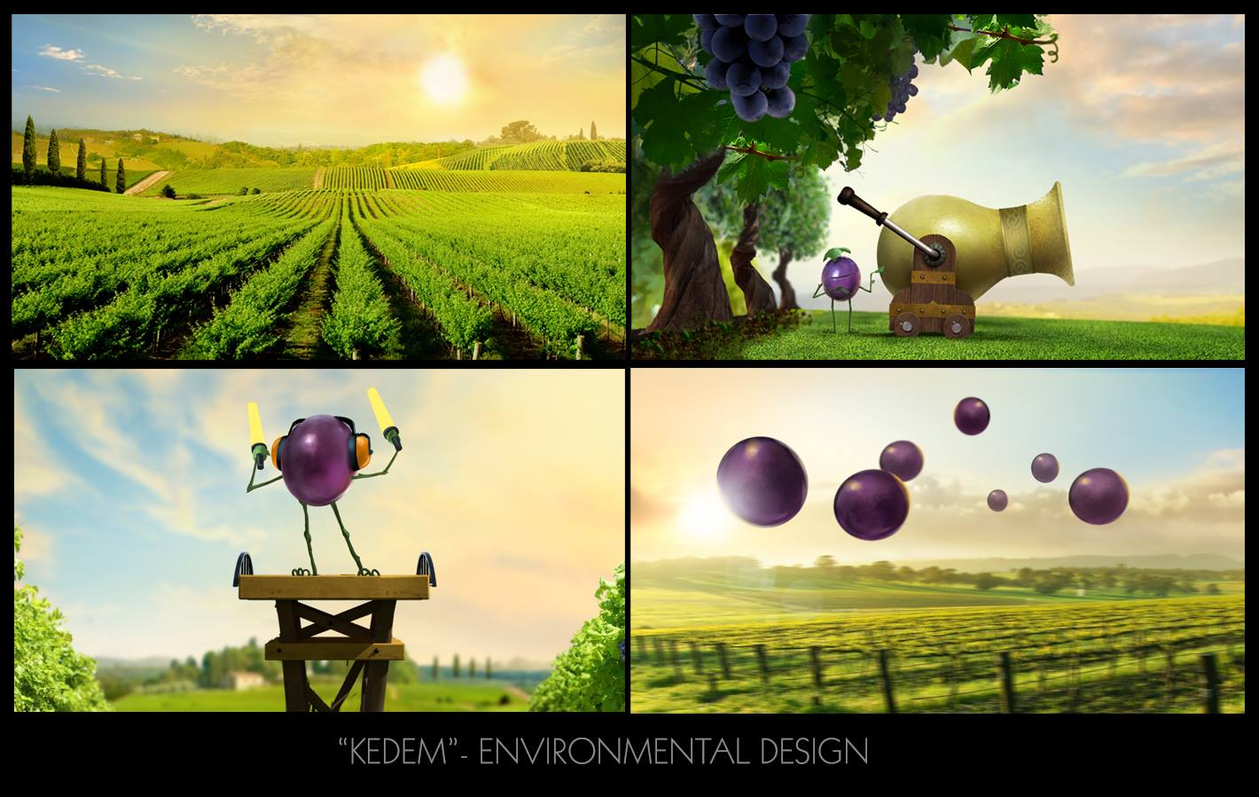 Kedem Grape Juice Commercial