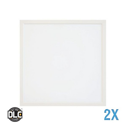 LED Panel 2x2 40W 4000 Lumen w/ Emergency Battery Backup