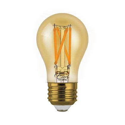Vintage Bulb A15 Amber Tint Energy Star
