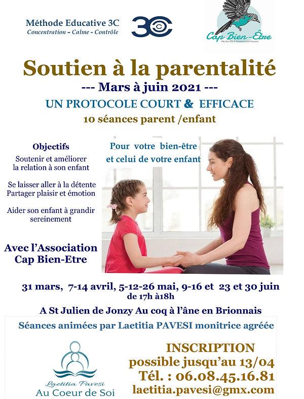 soutien à la parentalité Cap Bien etre-