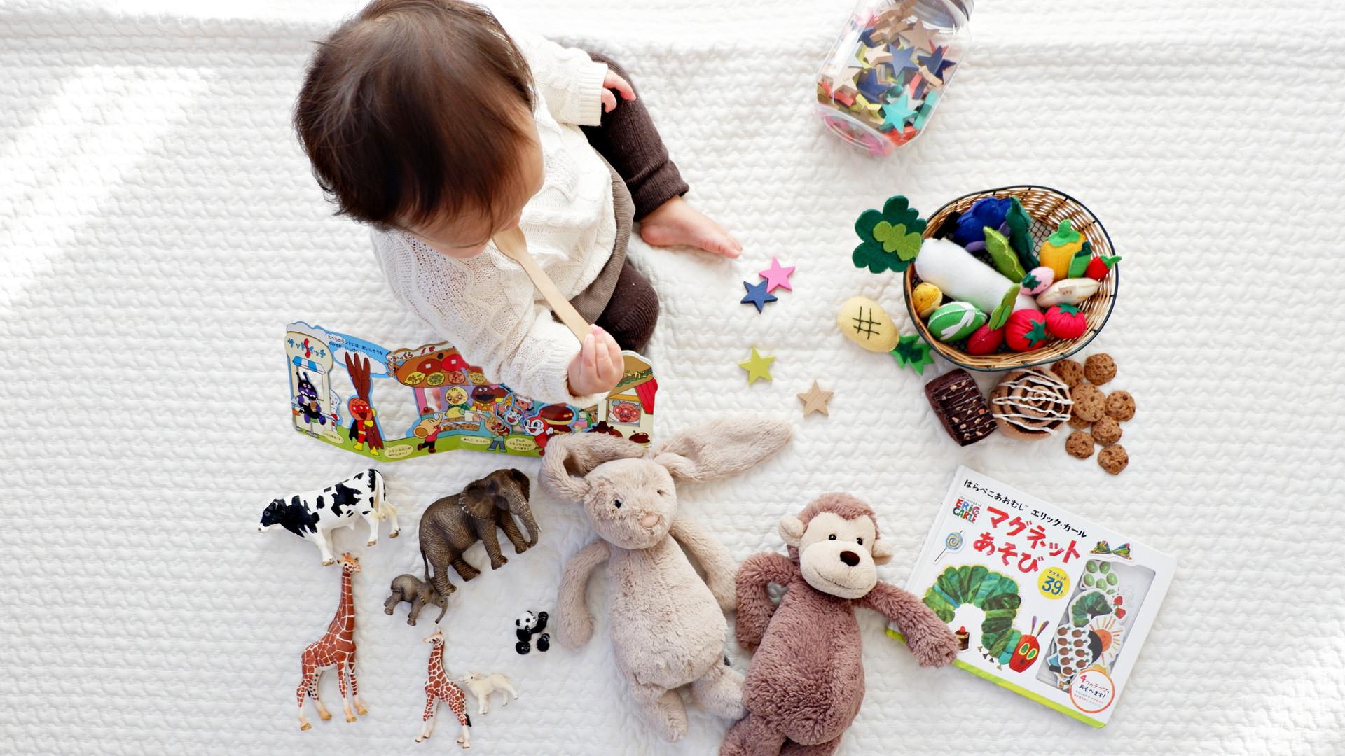 Peuter Spelen speelgoed baby