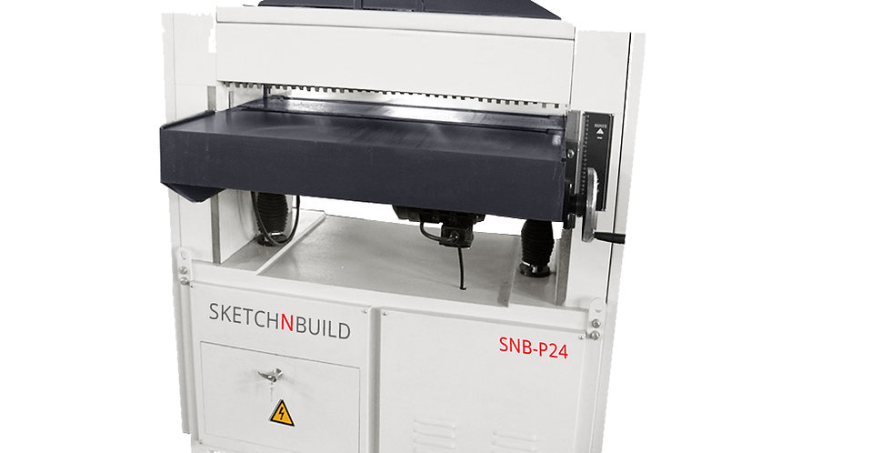 "SNB-P24 25"" THICKNESS PLANER w/Digital Readout"