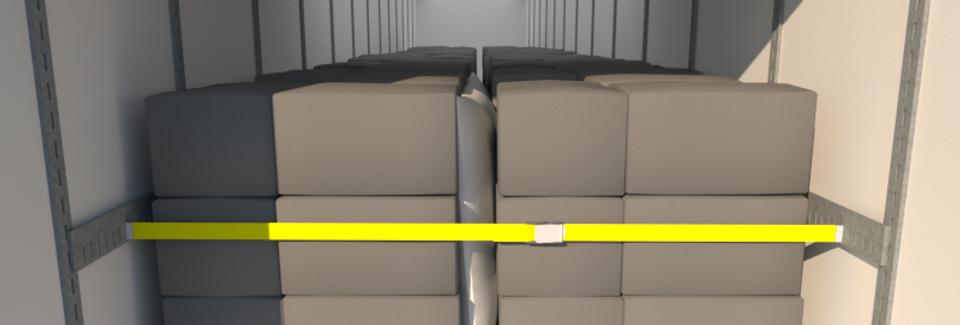 Cargo Brace CB2000, L+R Pair, Galvanized