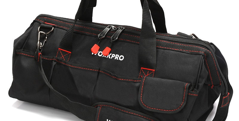 WORKPRO Tool Bags,  Portable Waterproof Canvas Tool Organizer