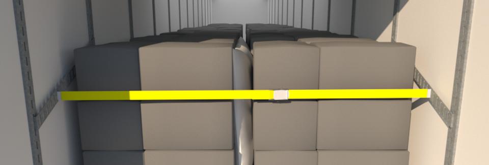 Cargo Brace CB1000, L+R Pair, Galvanized