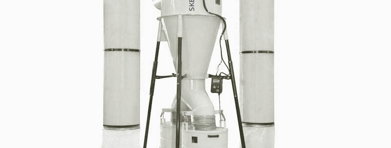SNB-DC 10HP 2 STAGE CYCLONE DUST COLLECTOR