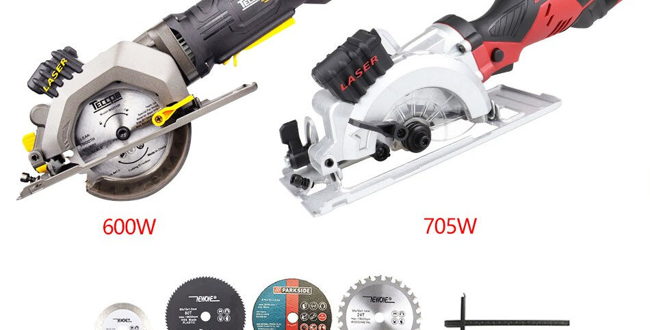 120v/230v 600w/705w Electric Power Tool Electric Mini Circular Saw With Laser